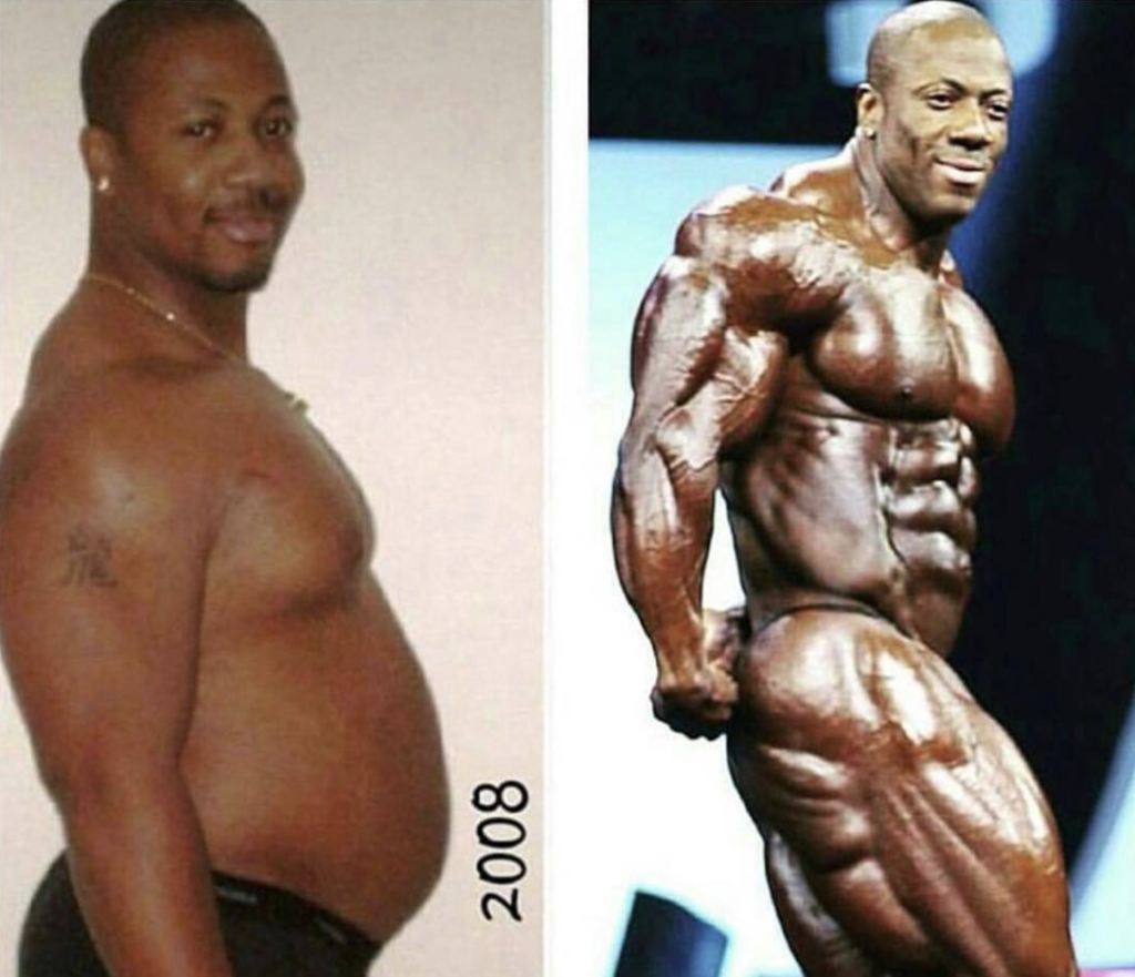 Shawn Rhoden Mr. Olympia Competition