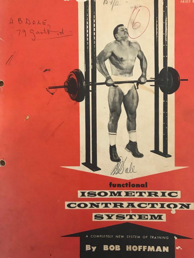 Bob Hoffman Isometric Holds