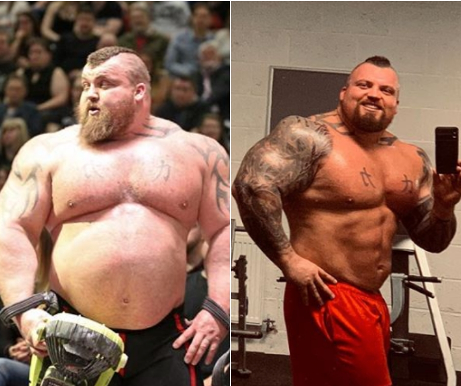 Eddie Hall Is Losing Almost 2 Pounds Per Week — Will He Do ...
