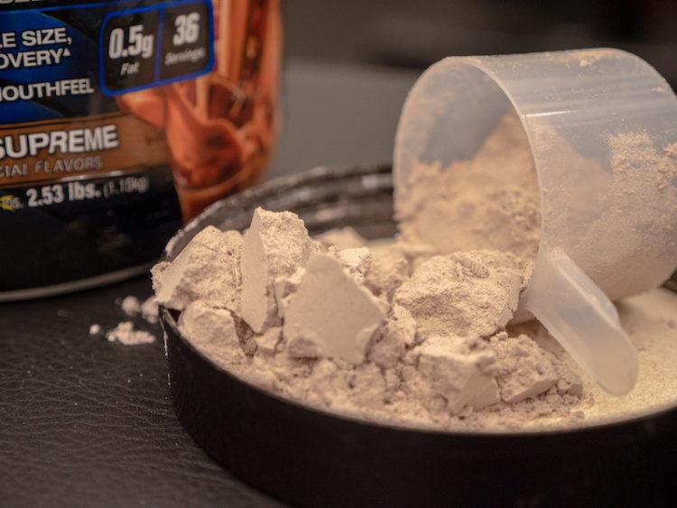 MuscleTech Nitro Tech Casein Gold powder