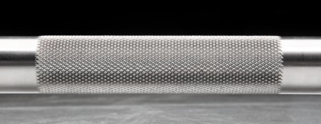 Rogue Fitness Barbell Knurling