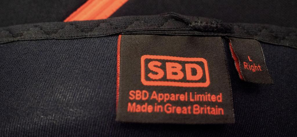 SBD Knee Sleeve Stitching