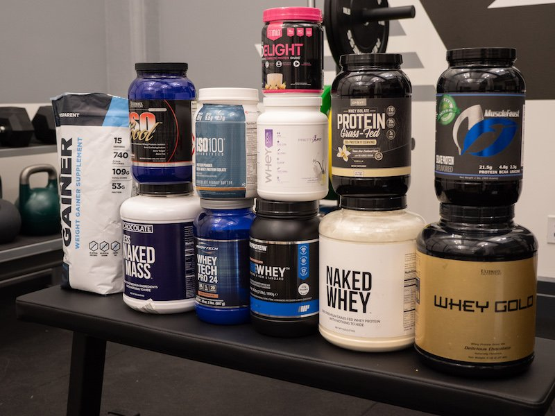 best whey protein gym