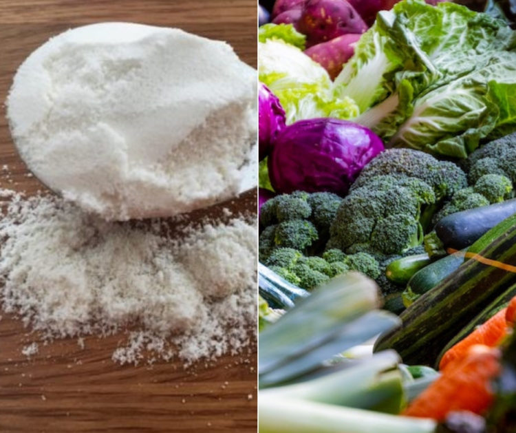 meal replacements and vegetables