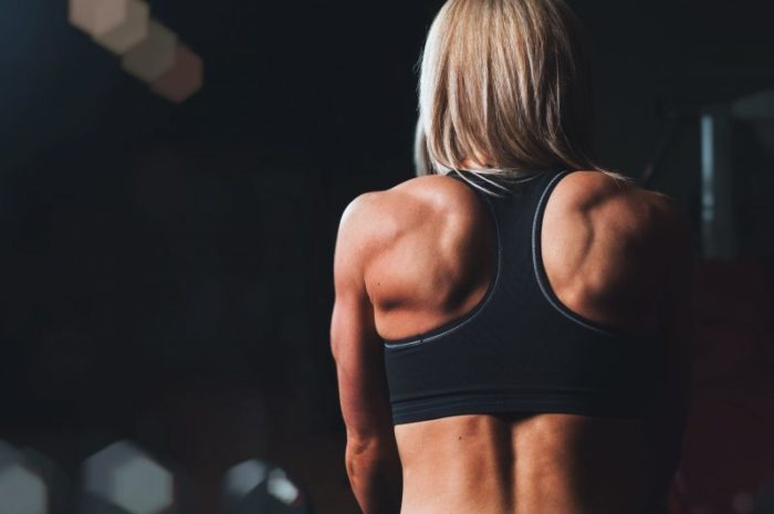 woman back muscles arnold