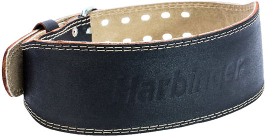 Harbinger 4″ Padded Leather Belt