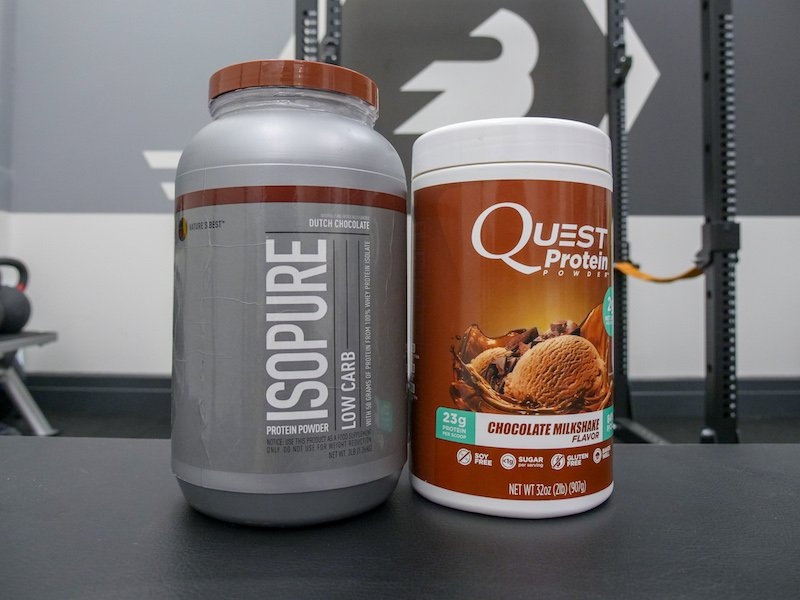 Isopure and Quest