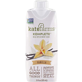 Kate Farms Komplete Meal Replacement Shake