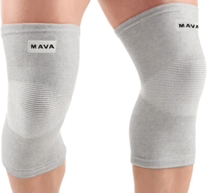 Mava Sports Elastic Knee Supports
