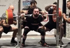 Nathan Tanis Squat World Record