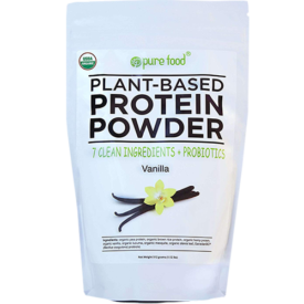 Pure Food Company Plant-Based Protein Powder