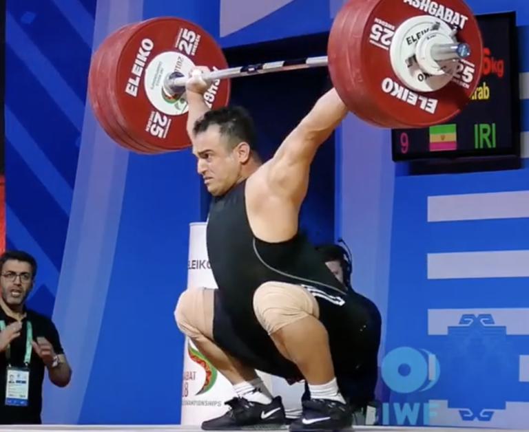 Sohrab Moradi 2018 Weightlifting World Championships