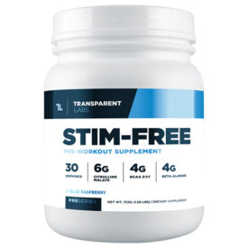 Transparent Labs Stim-Free Pre-Workout