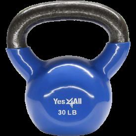 Yes4All Vinyl Coated Kettlebell