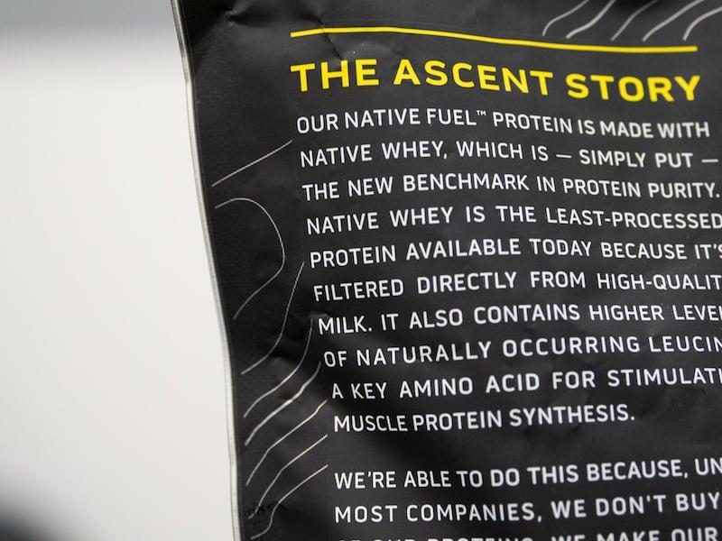 Ascent leucine