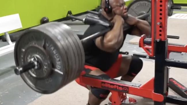 Kevin Oak 700 lb Front Squat