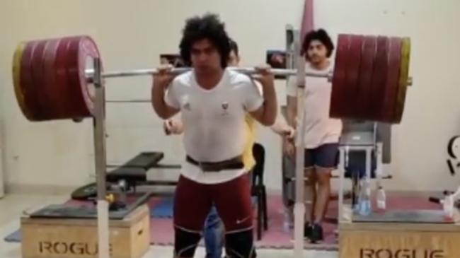 Meso Hassona Back Squats 300kg