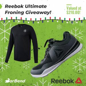 Reebok Froning Giveaway