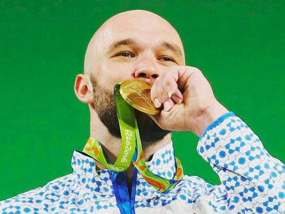 Weightlifter Ruslan Nuridinov