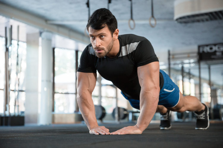close grip push-up