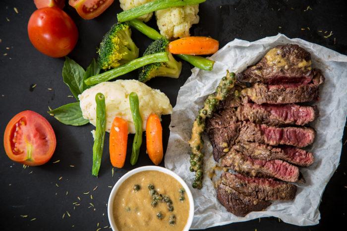 steak and asparagus free