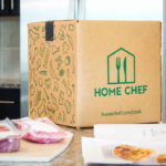 The box for Home Chef meals