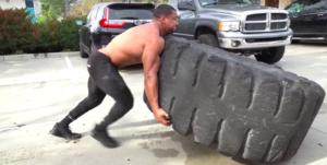 Larry Wheels Tire Flip