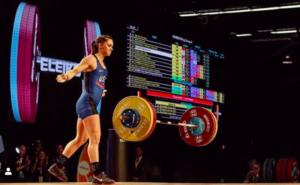 Mattie Rogers World Weightlifting Championships
