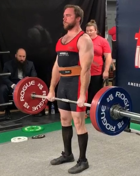 Mike Ray deadlift