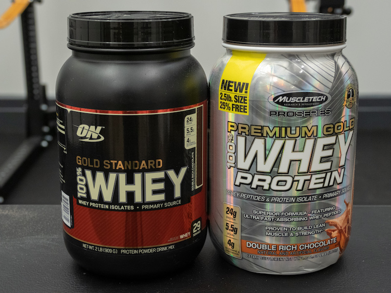 Optimum Nutrition vs Muscletech