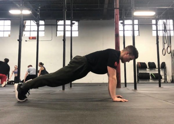 Plank Exercise Guide - Tall Plank