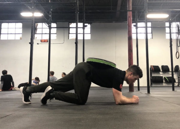 Plank Exercise Guide - Weighted Plank Set Up 2