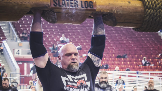 Strongman Over 40