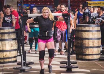 Strongman athlete