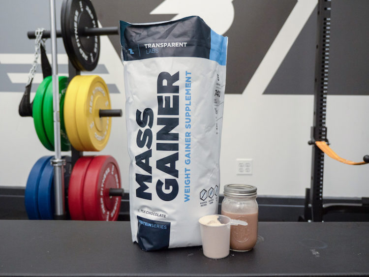 Transparent Labs Mass Gainer bright