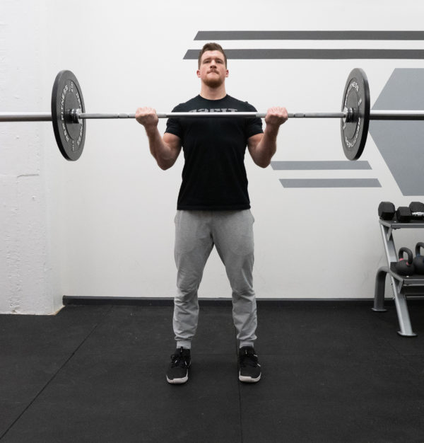 b77d02022e20 Barbell Curl Exercise Guide - Squeeze at the Top