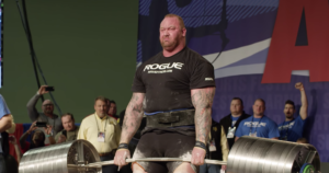 Rogue Elephant Bar Deadlift Challenge