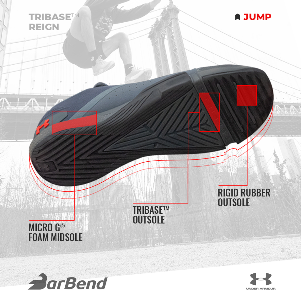 Ua Reign Tribase™ The Each JumpRunLiftWhy Barbend In Excels thdsrQ