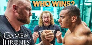 thor bjornsson larry wheel arm wrestling