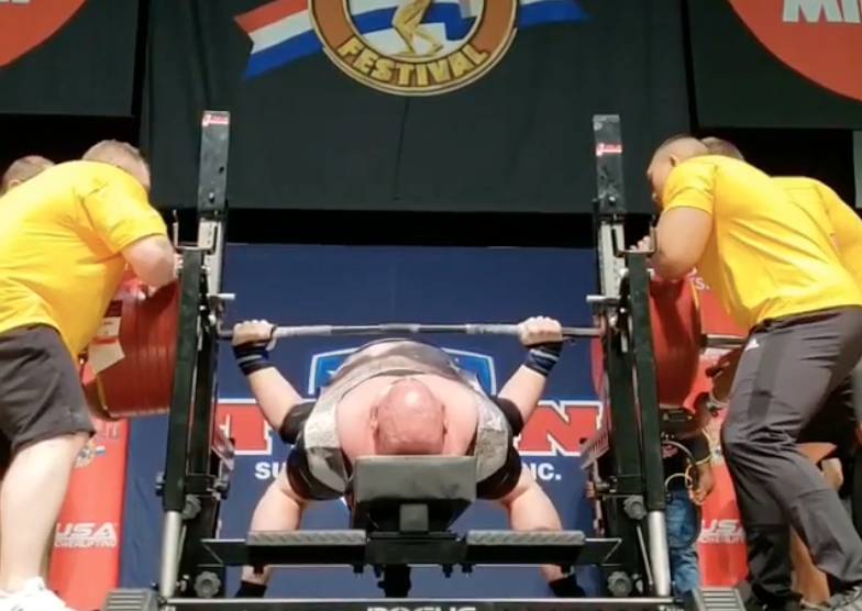 1,003 Pounds: Watch Blaine Sumner's New All-Time Bench Press