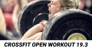 CrossFit Open Workout 19.3