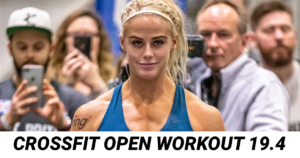 CrossFit Open Workout 19.4
