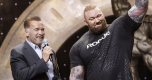Hafthor Bjornsson Wins 2019 Arnold Strongman Classic