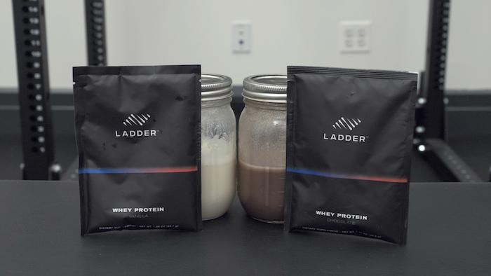 Ladder vanilla and chocolate