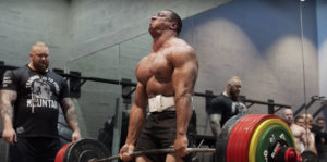 Larry Wheels deadlift amrap