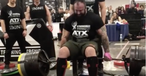 Martin Tye Seated Deadlift