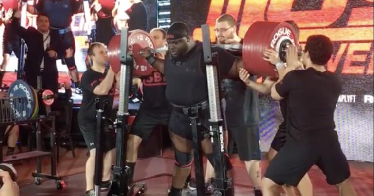 Ray Williams Squats 490kg