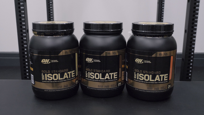 optimum nutrition gold standard isolate flavors