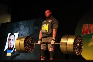 Arnold South Ameican Strongman Winner