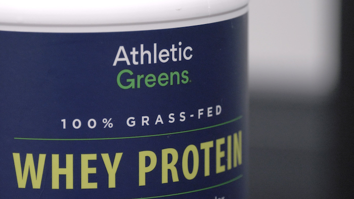 Athletic Greens Whey close